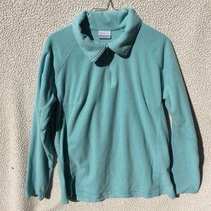 Columbia Fleece Pullover 1/4 Zip Women's XL